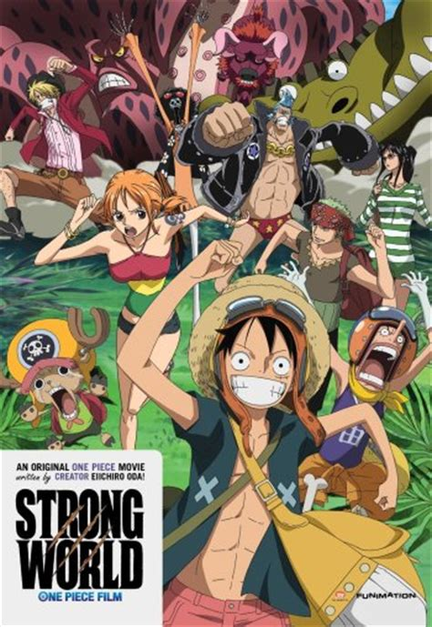 one piece film x strong world shounen anime anime planet