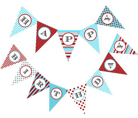 printable birthday pennant banner 8 best images of printable birthday flag banner free