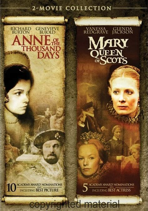 queen film collection anne of the thousand days mary queen of scots 2 movie