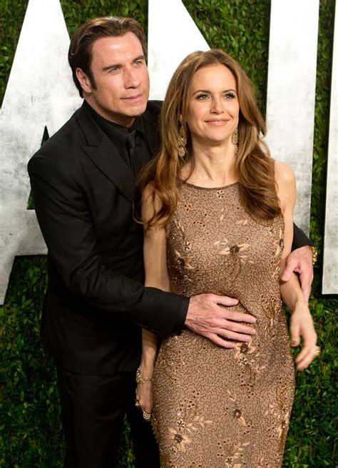 house wife kelly john travolta embraced wife kelly preston on the red carpet vanity fair s exclusive