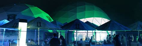 summer house music innovative festival event domes for summer house music