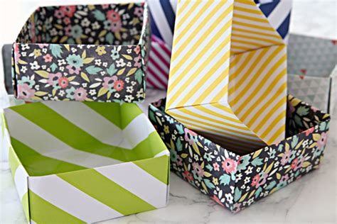 diy craft box diy paper box craft the craftiest