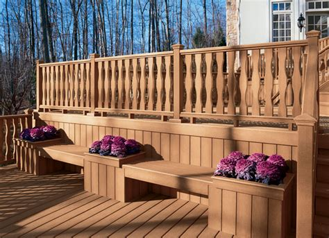 deck benches and planters deck bench planter designs benches