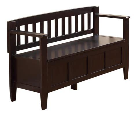 30 inch wide storage bench amazon com simpli home brooklyn entryway storage bench