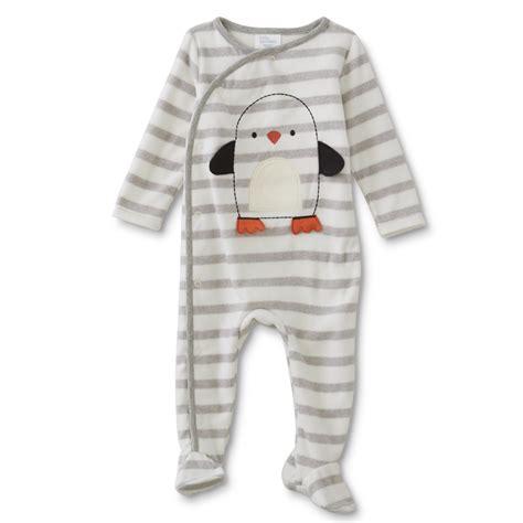 wonders newborn boys fleece sleeper pajamas