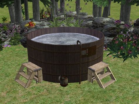 hillbilly bathtub mod the sims redneck hot tub recolours