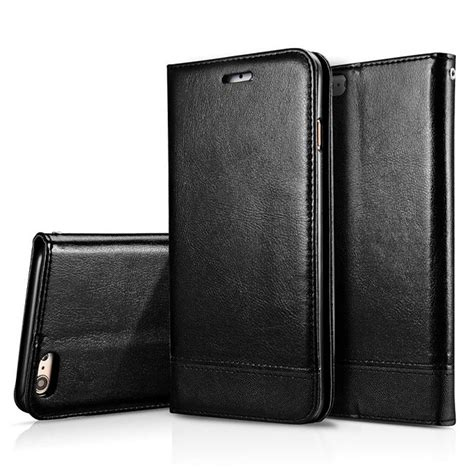 Luxury Leather Flip Wallet Iphone 6 6s luxury leather wallet magnetic flip cover stand for apple iphone 6s 6 plus ebay