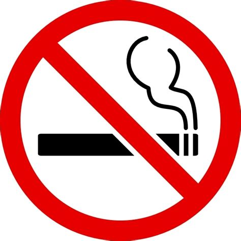 no smoking sign picture no smoking sign clip art free vector in open office