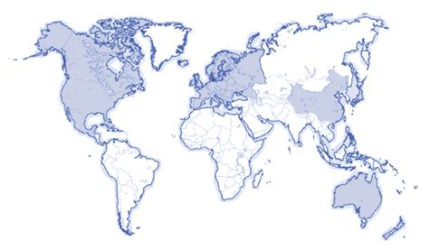 europe and america map toyoda gosei america corporation