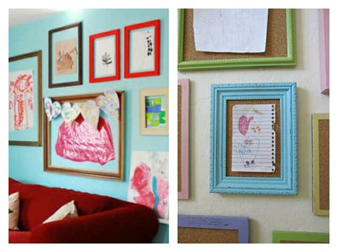 ways to display artwork 21 ways to display kids artwork honor creativity