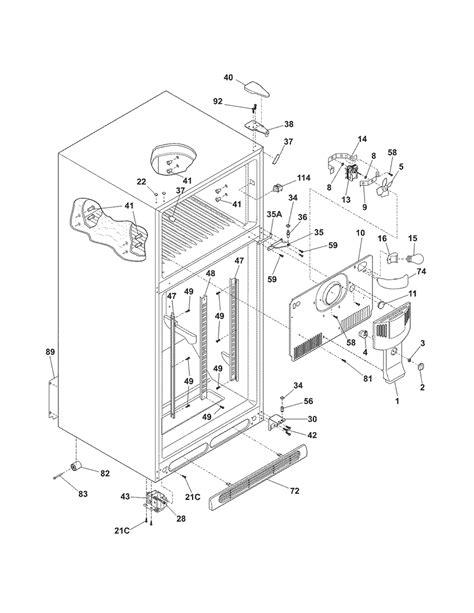 kenmore refrigerator parts diagram kenmore refrigerator system parts model 25378242800