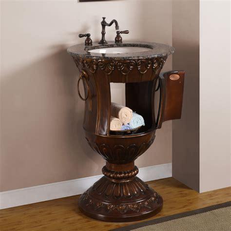 Pedestal Sink Vanity by 23 Inch Vanity Space Saving Vanity Pedestal