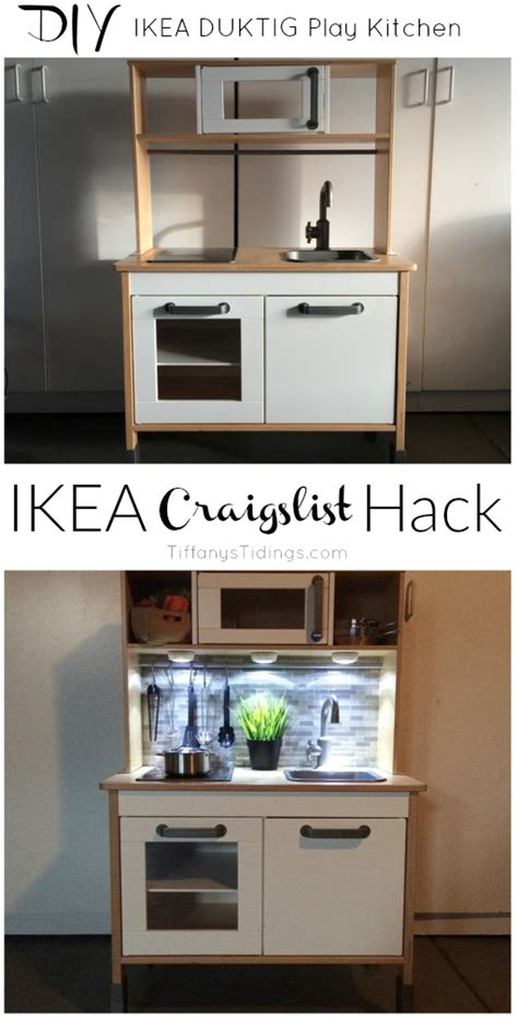 diy ikea play kitchen hack kitchen hacks cabinets and craigslist ikea duktig hack tiffanys tidings