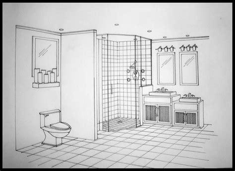 Bathroom Drawings by Home222 Aprilharbour