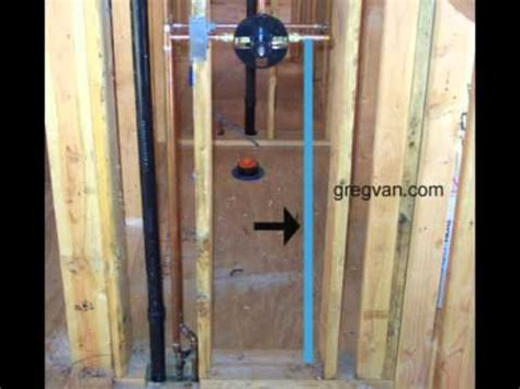 Creation Plumbing House Plumbing Design Water Pipes And Shower Valve