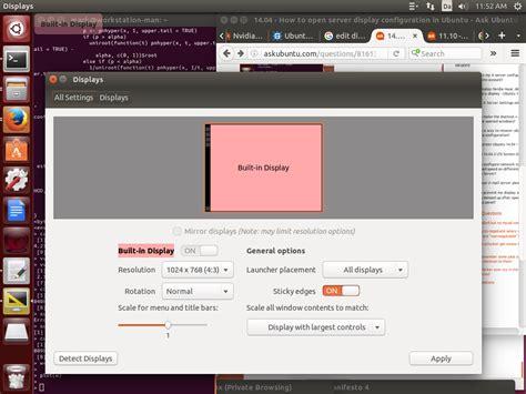 configure ubuntu server wireless how to open server display configuration in ubuntu