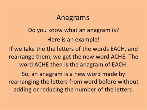 5 Letter Words Anagrams anagrams