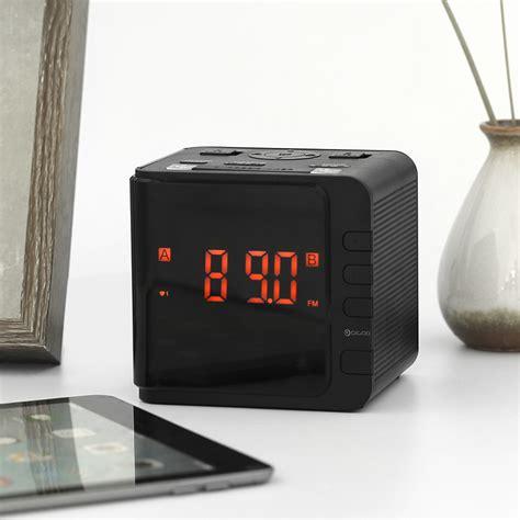 Alarm Cr7 led large display usb alarm clock radio digital am fm