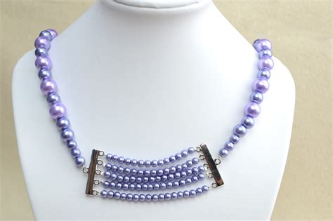 make my own jewelry make your own pearl necklace pictures photos and images