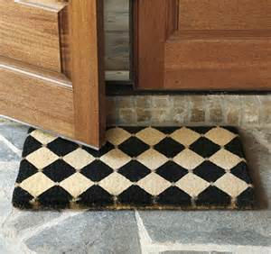 Outdoor Doormat Court Coir Mat Contemporary Doormats By