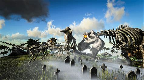 Ark: Survival Evolved adds skelesaurs and zombie dodos for