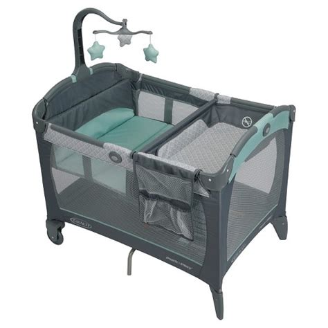 pack n play with changing table and storage graco 174 pack n play playard change n carry manor target