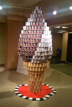 canned food sculpture ideas 1000 images about canstruction on pinterest canned foods food bank and sculpture