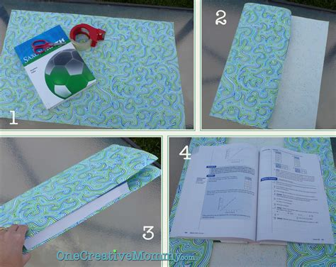 How To Make A Book Cover With Paper Bag - how to make a book cover with construction paper 28