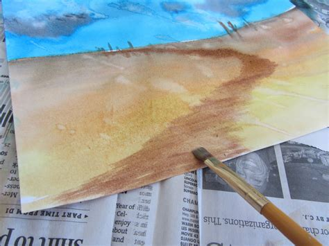 watercolor tutorial easy the unlikely homeschool art lesson easy watercolor