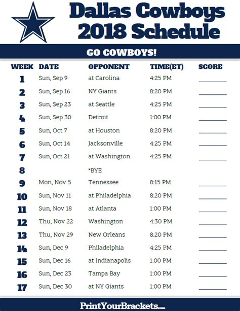 printable nfl schedule espn images nfl schedule 2017