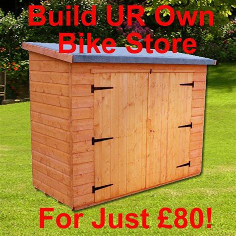 Bike Storage Shed Plans by Dig How To Build A Lean To Bike Shed