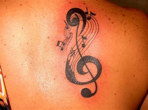 clef tattoo designs superb treble clef designs busbones