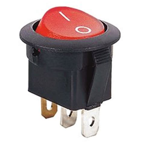 spst 110 volts ac illuminated rocker switch wall light