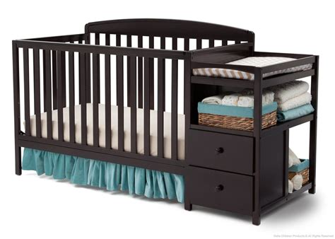 delta crib with changing table royal crib n changer delta children s products