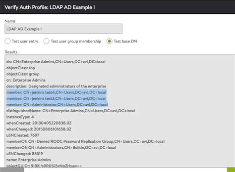 Vi Search Ignore Ldap Configuration Exles
