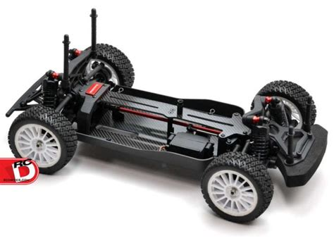 rally mini truck carbon fiber chassis and deck for the losi mini