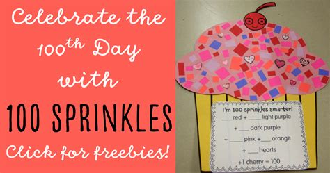 day activity ideas 100th day of school in grade happy