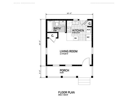 Dimensions Of 200 Square Feet by Dimensions Of 200 Square Feet 200 Square Foot Cabin Plans