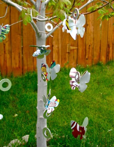 butterfly mobile made from aluminum pop cans gingerbread 20 genius ways to recycle soda cans into amazing diy