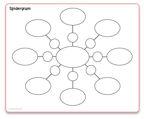 spider diagram in word spidergram template 28 images worksheet spidergrams