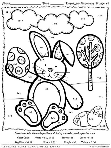 easter coloring pages by numbers easter color by number coloring home