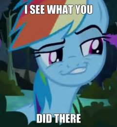 Did there untagged rainbow dash meme and my little pony