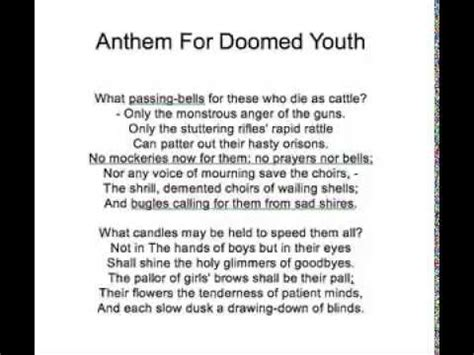 anthem for doomed youth b00r73o8z6 anthem for doomed youth mp4 youtube