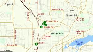 lake oswego oregon map hotels in lake oswego or oregon hotels crowne plaza