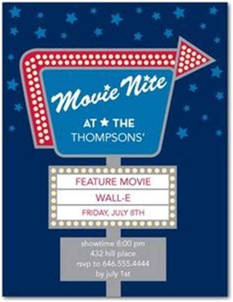 backyard movie night invitations 1000 images about outdoor movie night on pinterest