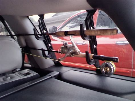 Rear Window Gun Rack by Ceiling Mount Rod Rack Dodgeforum