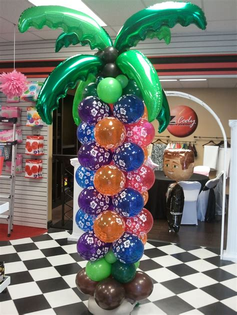 Hawaiian Balloon Decorations by 17 Best Images About Luau For Birthday On Luau
