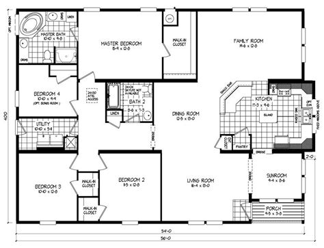 Economical Homes To Build New Clayton Modular Home Floor Plans New Home Plans Design