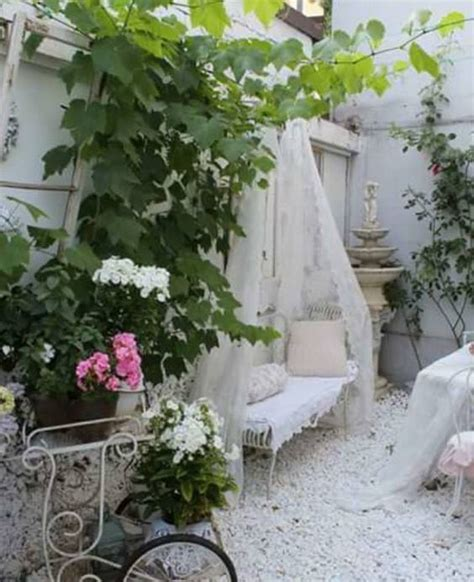Shabby Chic Garden Decor Diy Outdoor Shabby Chic Top Easy Backyard Garden Decor Design Project Holicoffee