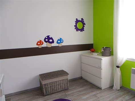 chambre bébé nature deco murale cuisine maison du monde